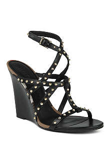 BURBERRY Towney wedge sandals