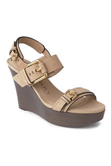 BURBERRY Brookland wedge sandals
