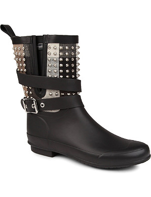 BURBERRY Holloway studded wellies