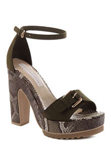 STELLA MCCARTNEY Tina faux-suede sandals