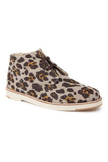 STELLA MCCARTNEY Anna canvas desert boots