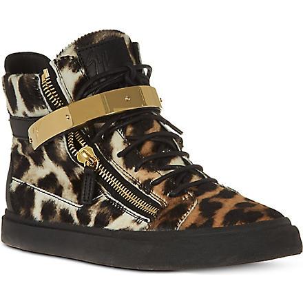 GIUSEPPE ZANOTTI Lulu Ankle Boots (Dk.brn com