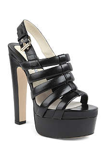 Brian Atwood Grace leather platform sandals