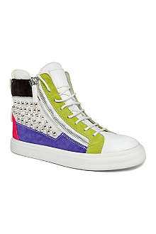 GIUSEPPE ZANOTTI Florence leather high-top trainers