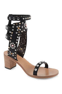 ISABEL MARANT Caroll embellished leather sandals