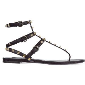 Rockstud gladiator sandals