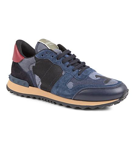 VALENTINO Camo trainers (Blue