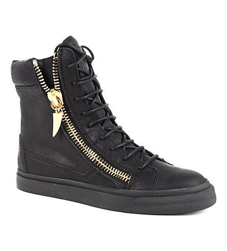 GIUSEPPE ZANOTTI Dee high-top trainers (Black