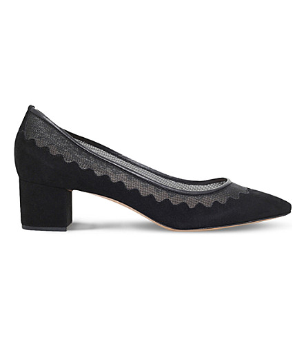 CHLOE Blockheel courts (Black
