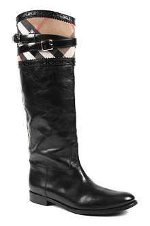 BURBERRY Carington riding boots