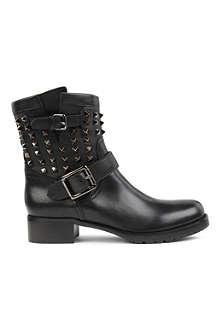 VALENTINO Rockstud noir biker boot