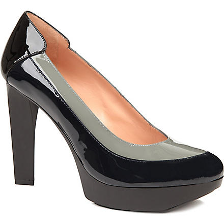 ROBERT CLERGERIE Tomi patent-leather courts