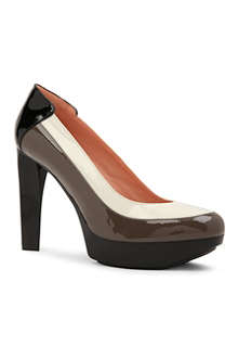 ROBERT CLERGERIE Tomi patent leather courts
