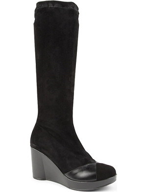 ROBERT CLERGERIE Cella knee-high boots