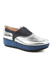 ROBERT CLERGERIE Demilee brogue creepers