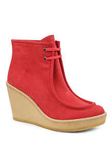 STELLA MCCARTNEY Deserted wedge boots