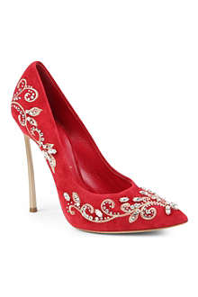 CASADEI Blade jewelled courts