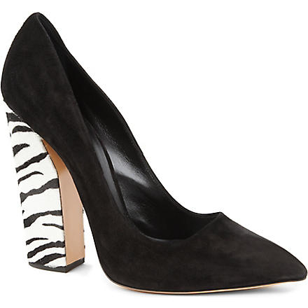 CASADEI Point court shoes (Blk/other
