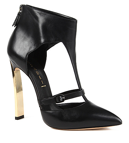 CASADEI T-bar courts (Black