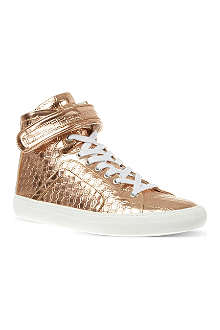 PIERRE HARDY 100 metallic high tops