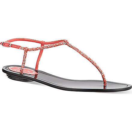 RENE CAOVILLA Herminoe sandals (Orange