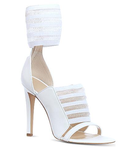 CHRISTOPHER KANE Arrabella leather sandals (White
