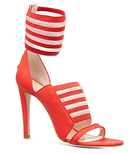 CHRISTOPHER KANE Arrabella leather sandals (Red