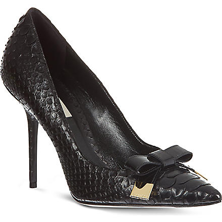 BURBERRY Soden court shoes (Black