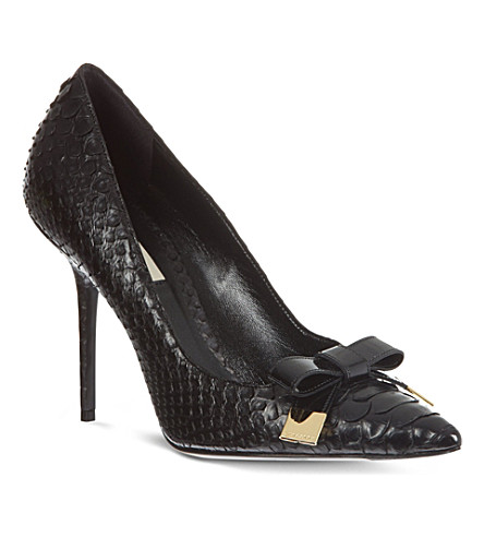 NO 21 Soden court shoes (Black