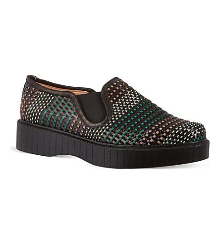 AZZEDINE ALAIA Prata shoes (Black