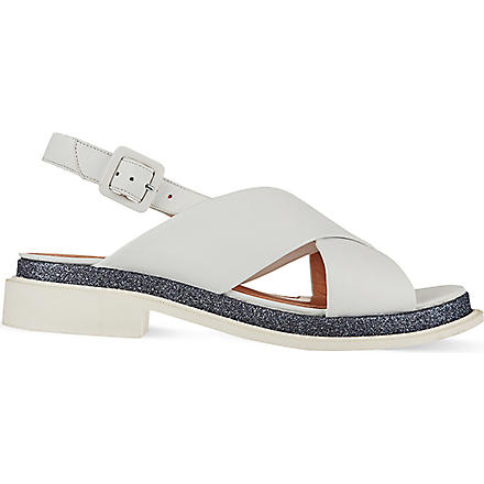 ROBERT CLERGERIE Caliba sandals (White/oth