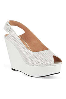 ROBERT CLERGERIE Bustyma platform wedge sandals