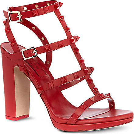 VALENTINO Rogue 105 sandals (Red
