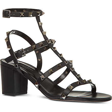 VALENTINO Rockstud sandals (Black