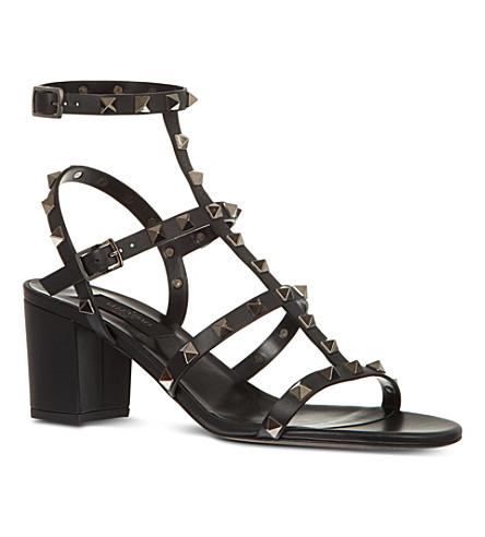 VALENTINO Rockstud sandals (Black