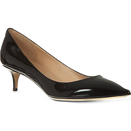 VALENTINO Patent leather courts (Black