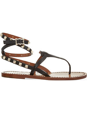 VALENTINO Rockstud double sandals