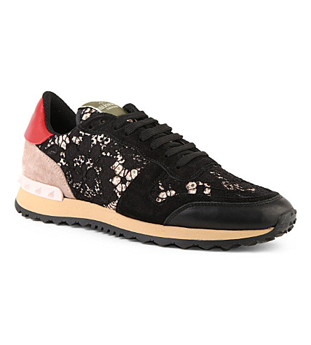 BOURNE Lace trainers (Blk/other