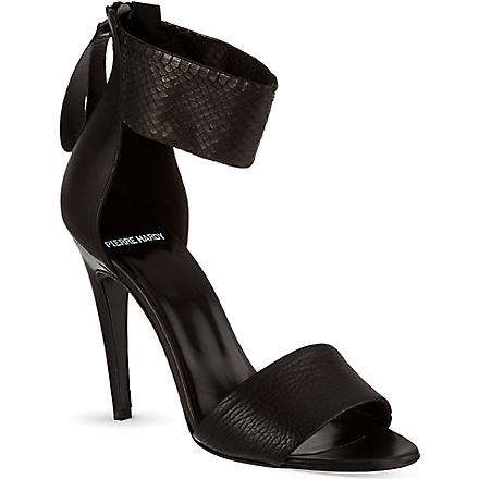 PIERRE HARDY Yves sandals (Black