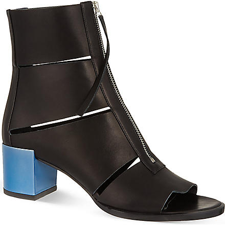 PIERRE HARDY Montague boots (Blk/blue