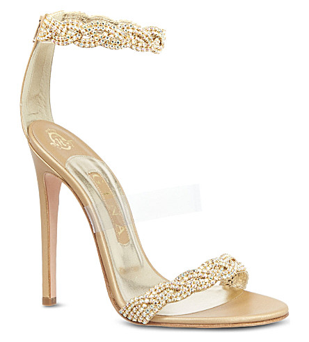 GINA Aaliyah sandals (Gold