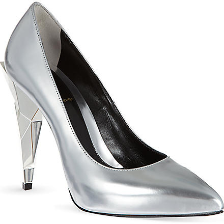 FENDI Diamond court shoes (Silver