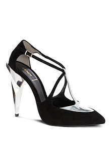 FENDI Diamond T-bar courts