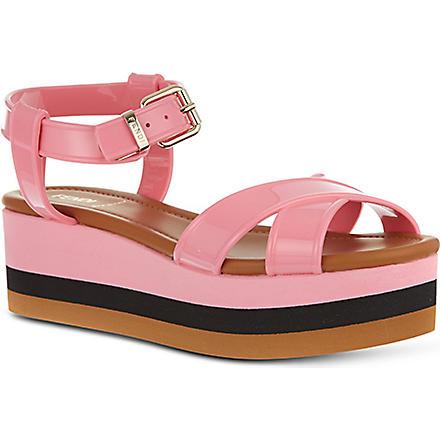 FENDI Hydra block sandals (Pink