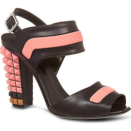 FENDI Polifonia sandals (Blk/other