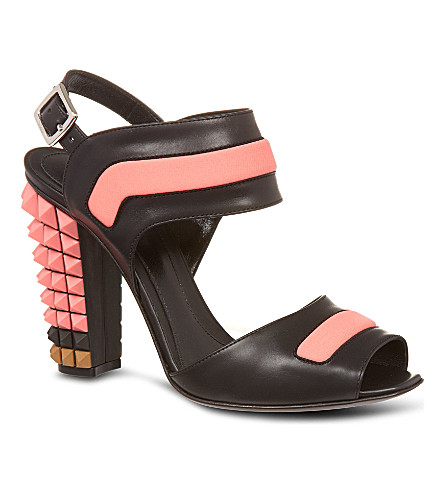 B STORE Polifonia sandals (Blk/other