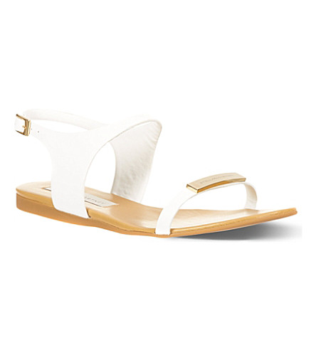 SUSUDIO Dickens sandals (White