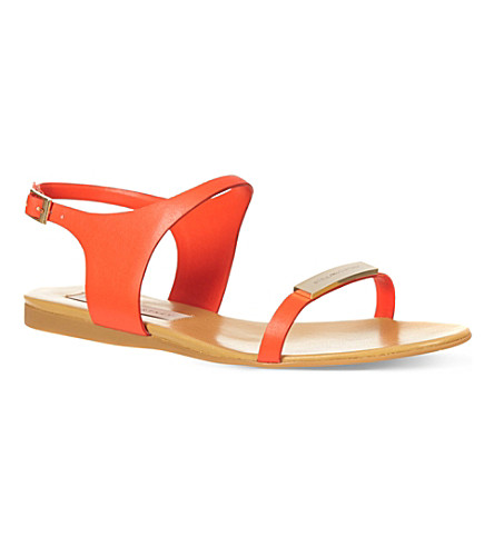 STELLA MCCARTNEY Dickens sandals (Red