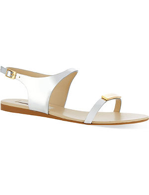 STELLA MCCARTNEY Dickens metallic sandals