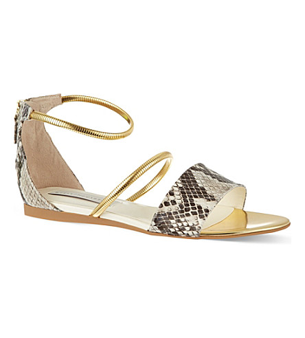 STELLA MCCARTNEY Magwitch flat sandals (White/comb